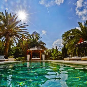 Casa Yoda - simply idyllic Ibiza luxury villa, nestled in tropical gardens