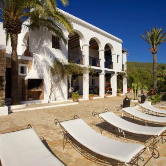 El Sultan is a chic Moroccan inspired finca just minutes from Ibiza Town